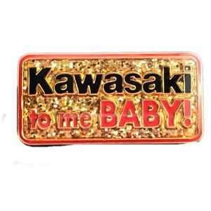 Other - Vintage Kawasaki to me baby pin